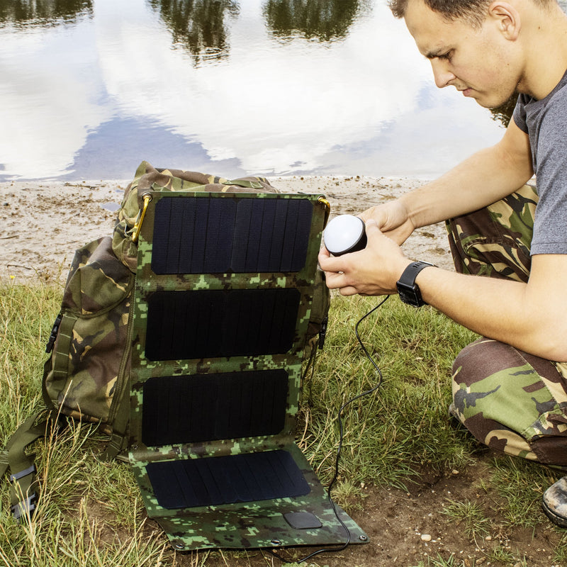 TACTICAL FALCON 28E ETFE Foldable Solar Panel