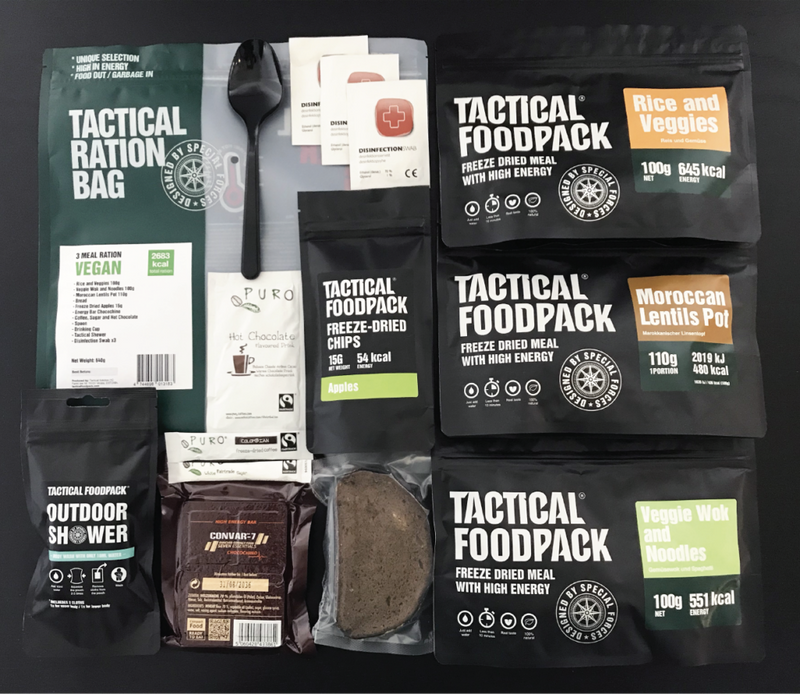 3 Meal Ration VEGAN
