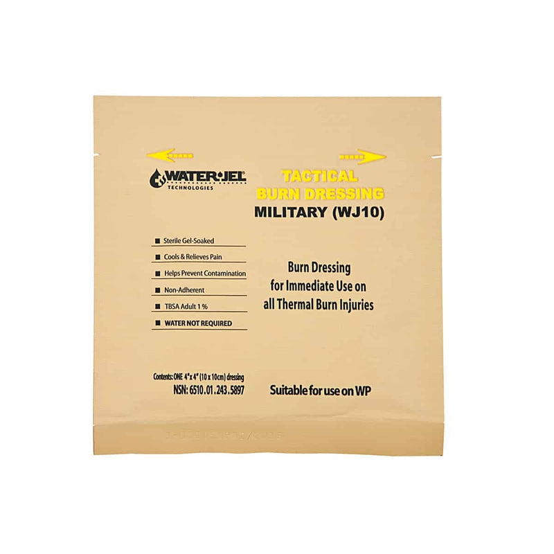 "Tactical Burn Dressing 10cm x 10cm (4"" x 4"")"