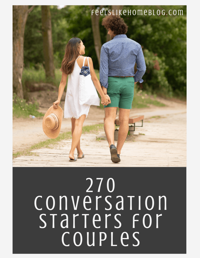 270 Conversations Starters for Couples
