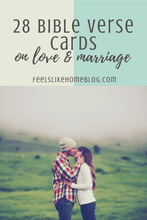Load image into Gallery viewer, 28 Scripture Cards on Marriage
