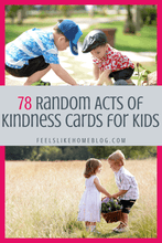 Load image into Gallery viewer, 78 Random Acts of Kindness Cards for Kids