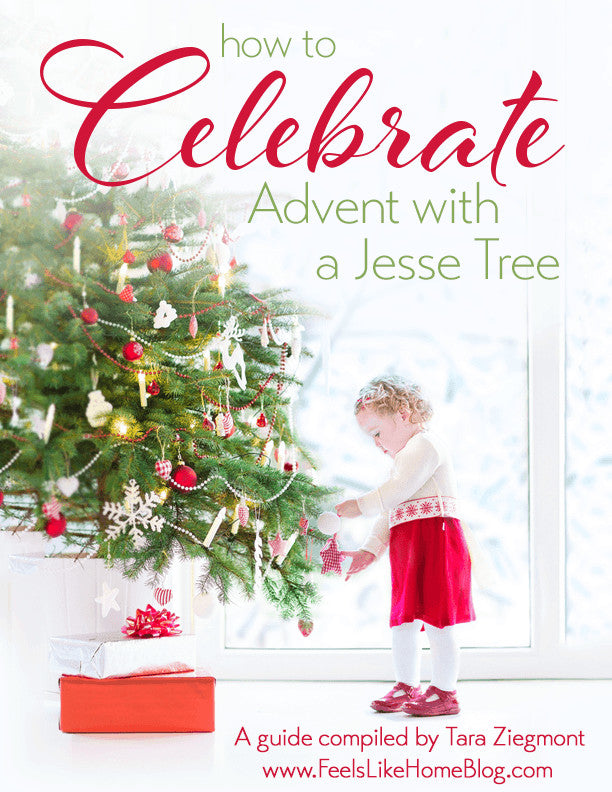 How to Celebrate Advent with a Jesse Tree - Individual Family Use Only