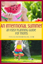 Load image into Gallery viewer, An Intentional Summer: A Planning Guide for Moms