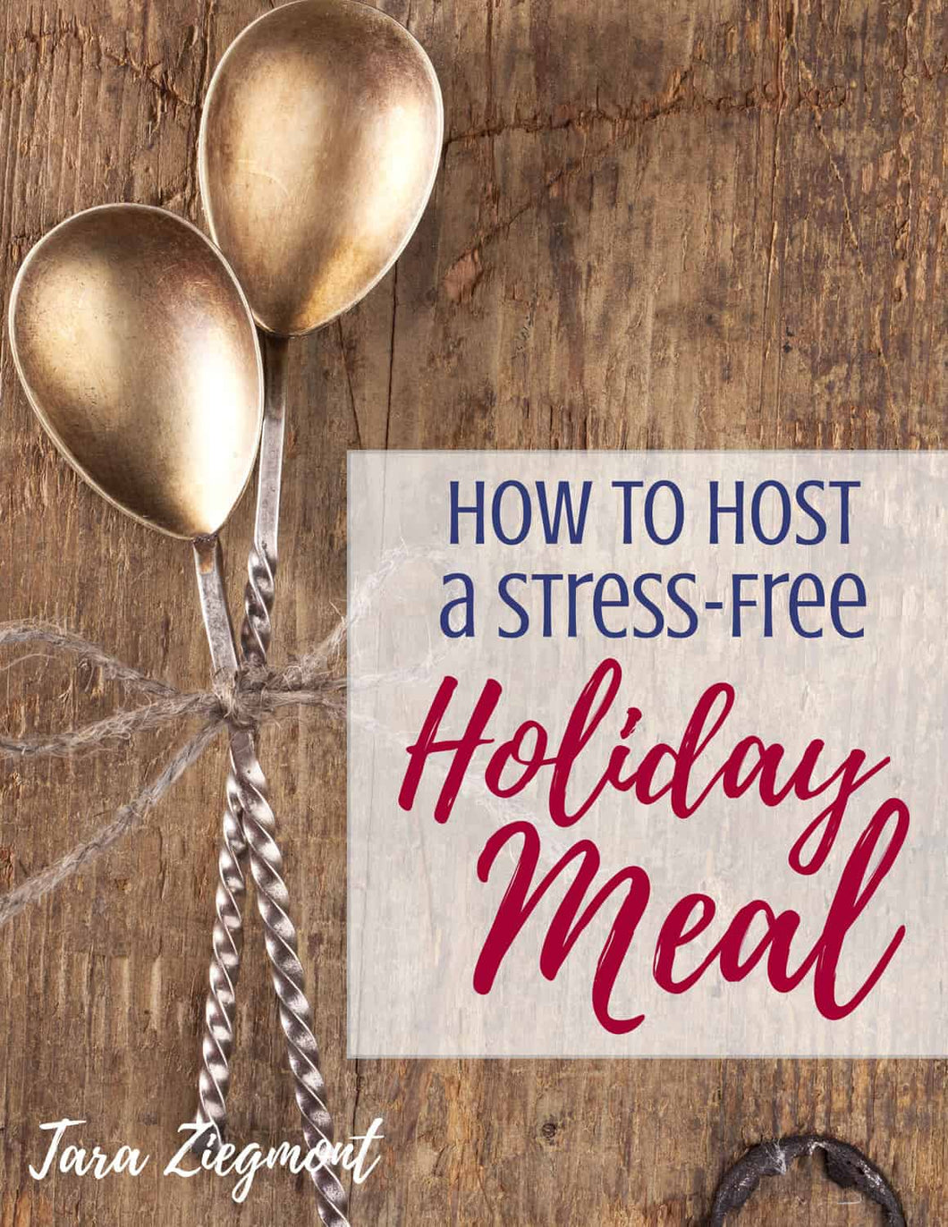 How to Host a Stress-Free Holiday Meal