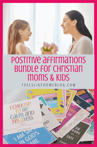 80 positive affirmations for Christian moms & kids - You will find tons of encouragement and inspiration for anxiety and anxious, worried thoughts in these 40 printable positive affirmations cards for Christian kids. Calm, peaceful thoughts for kids with anxiety, these inspiring words will expose the truths of God's word in a meaningful, repeatable way.