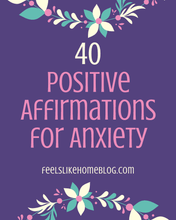 Load image into Gallery viewer, Positive Affirmations for Anxiety