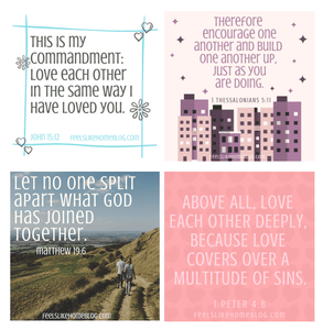 28 Scripture Cards on Marriage