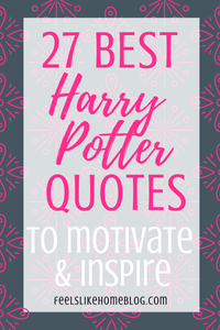27 Best Inspiring Harry Potter Quotes Printable