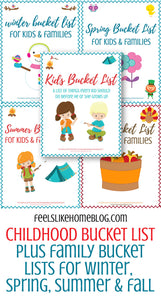 Kids Bucket List Bundle