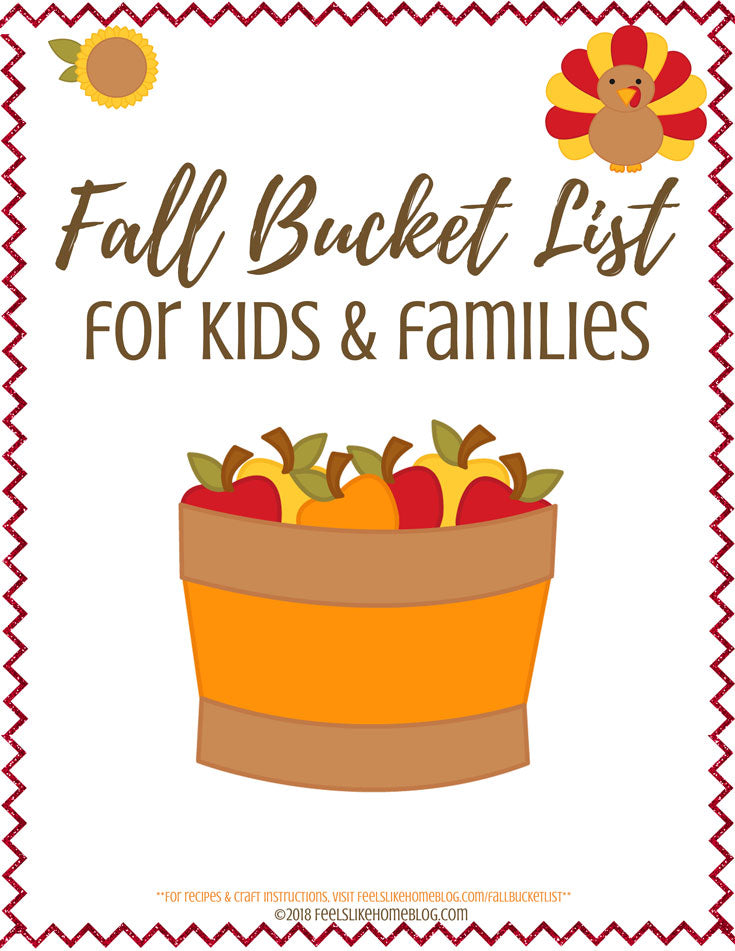 Fall Bucket List for Kids and Families