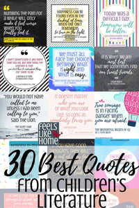 30 Best Quotes From Our Favorite Children's Books Printable
