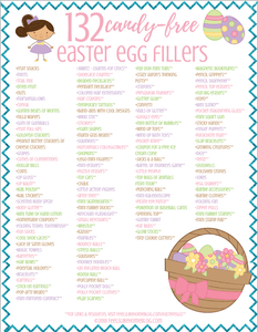 132 Non-Candy Easter Egg Fillers