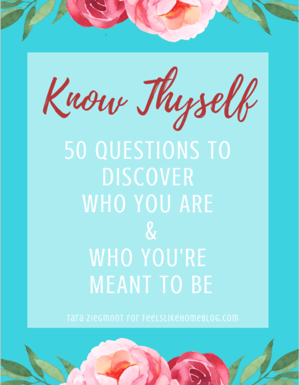 Know Thyself - Downloadable Journal for Self Discovery
