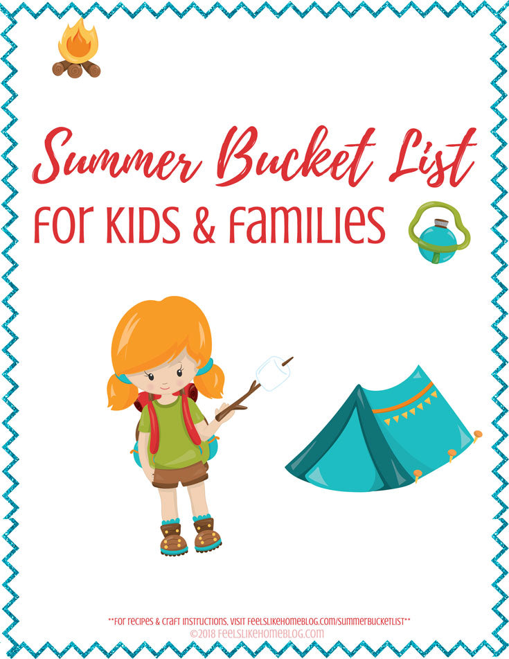Summer Bucket List for Kids & Families