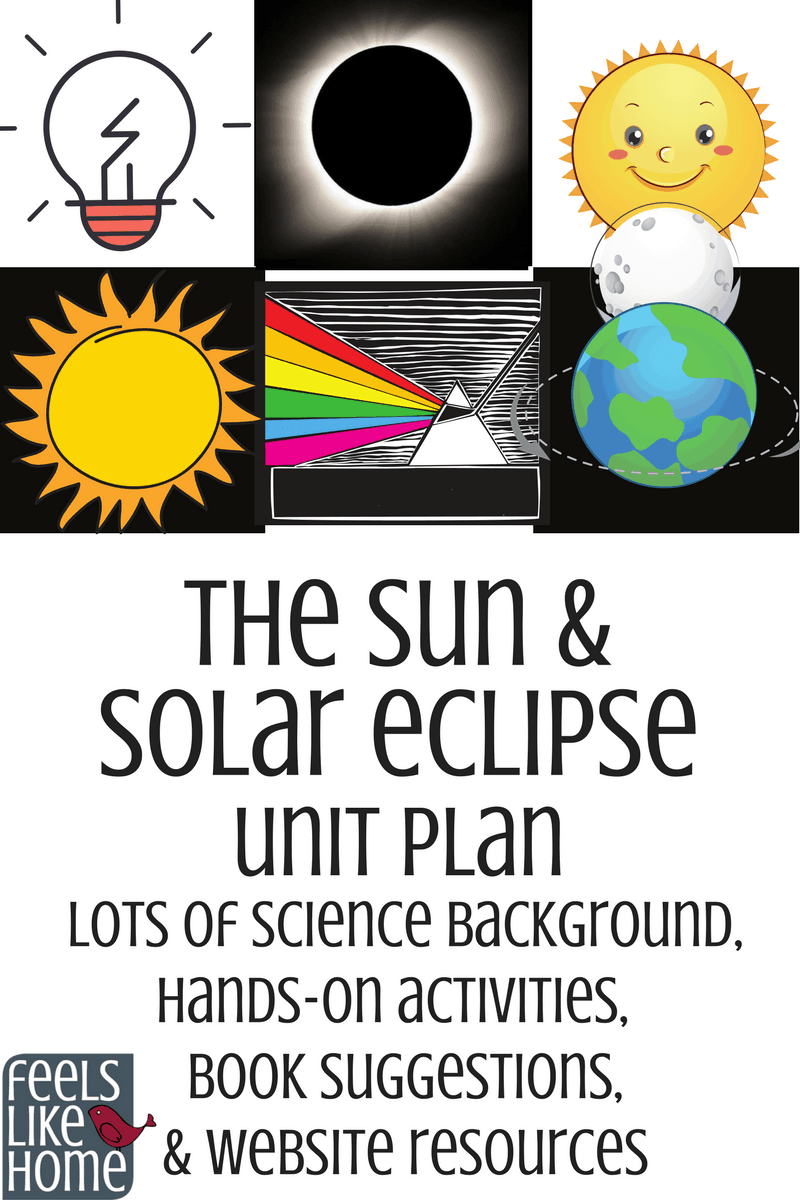 The Sun & Solar Eclipse Elementary Science Unit Plan