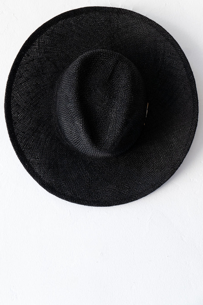 Chisaki Black 40 Okief Hat