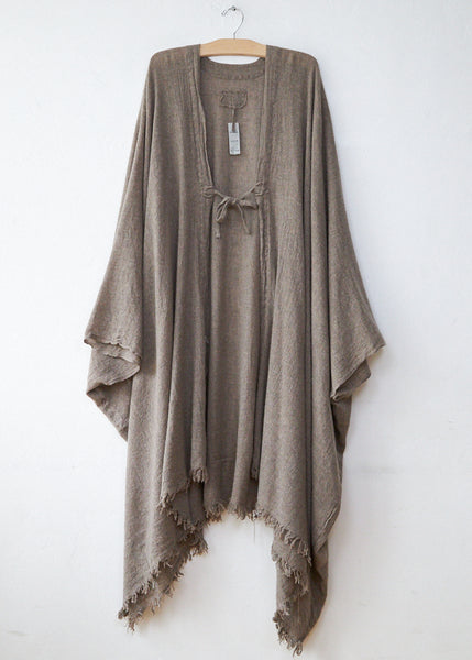 Private  02 04  1820 Brownish Long Poncho
