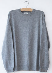 Hartford Grey Boil Crew Sweater