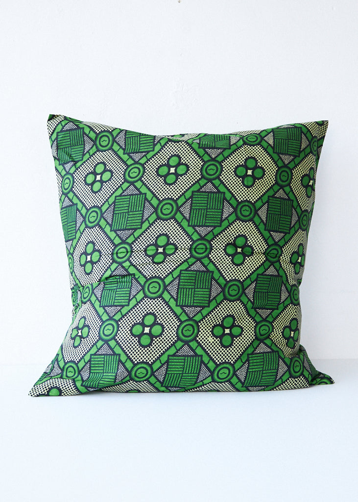 Csao Green Diamond Pillow