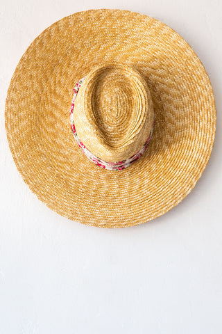 Montegallo Pink Liberty Lady Texan Hat