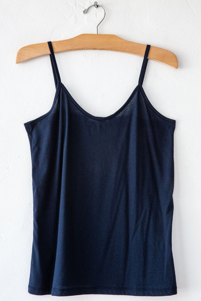 lost & found navy cami