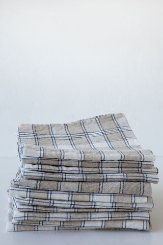 Tenjin Plaid Kitchen Towel