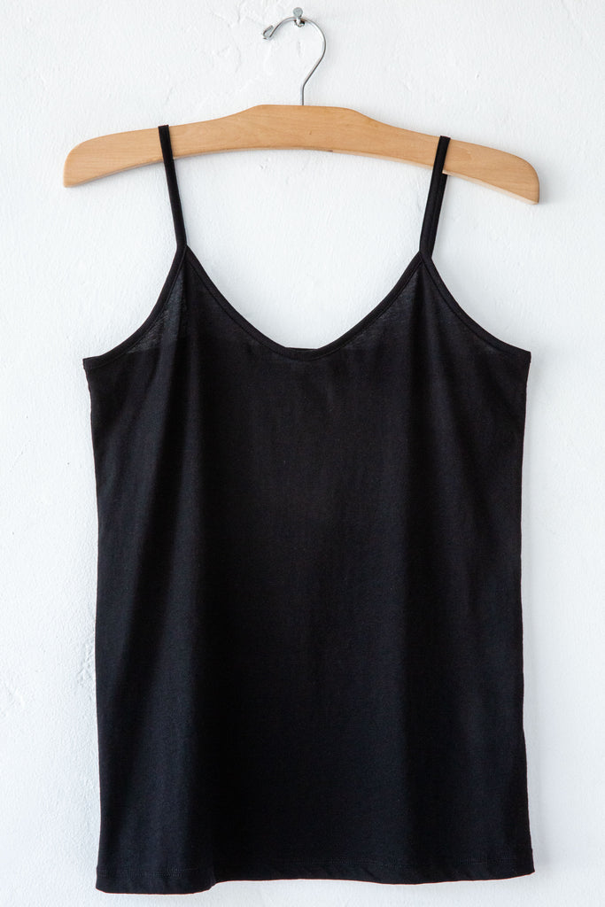 lost & found black cami