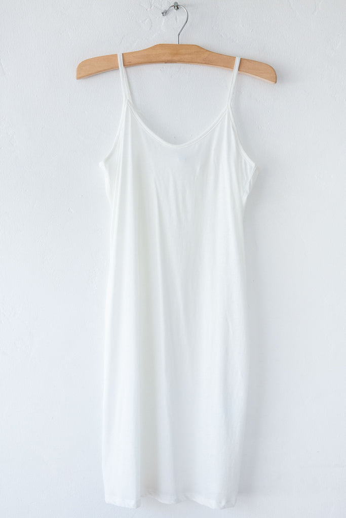 lost & found white slip dress