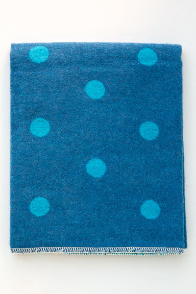 David Fussenegger Denim Juwel Dots Blanket