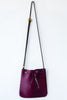 d/e goods cranberry pony bag