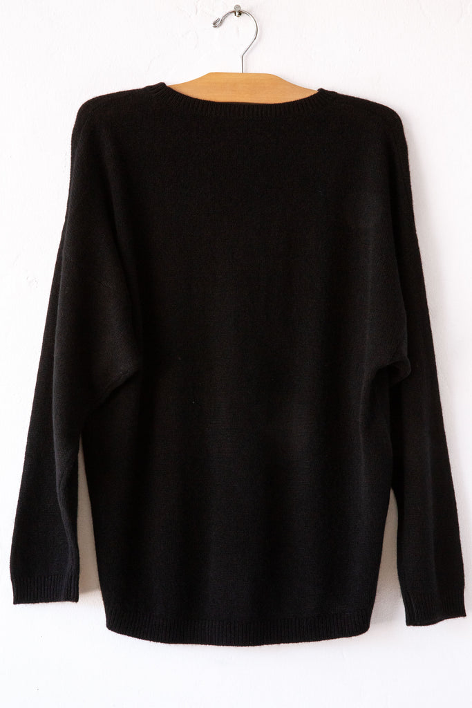 raquel allegra  black sleevesless tunic