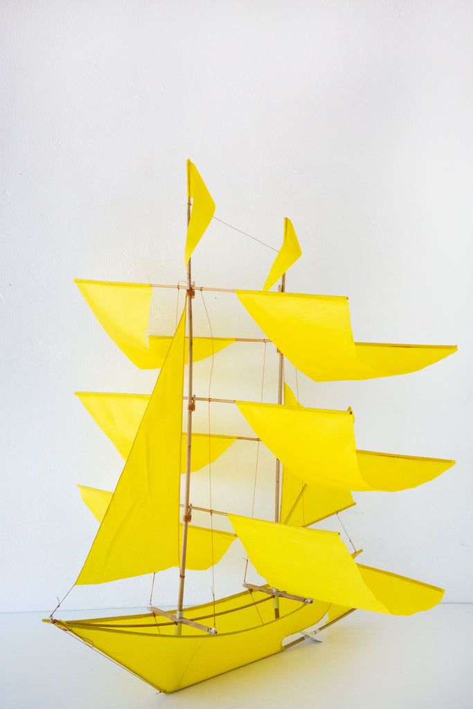 haptic lab canary sailing ship kite