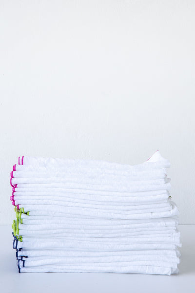 Lost & Found Lockstitch Linen Napkin