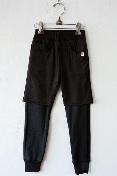 lennon + wolfe shadow stanley  2 layer pant