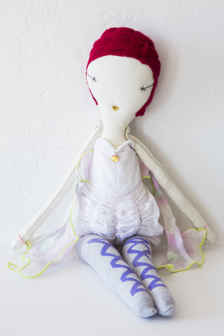 woven play butterfly doll