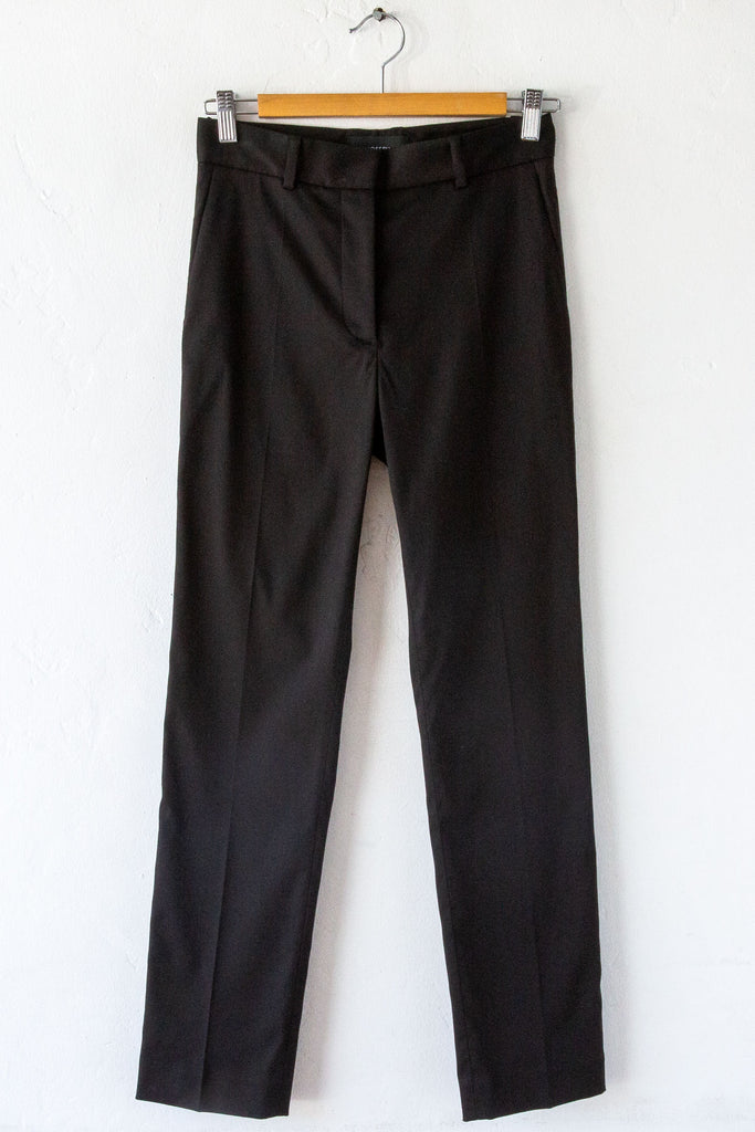 Aequamente Black Cable Knit Sweater