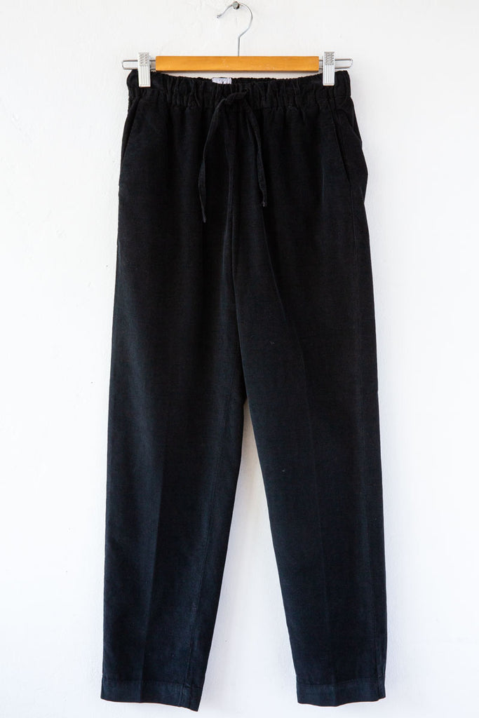 MYTHS Black Cord Drawcord Pant