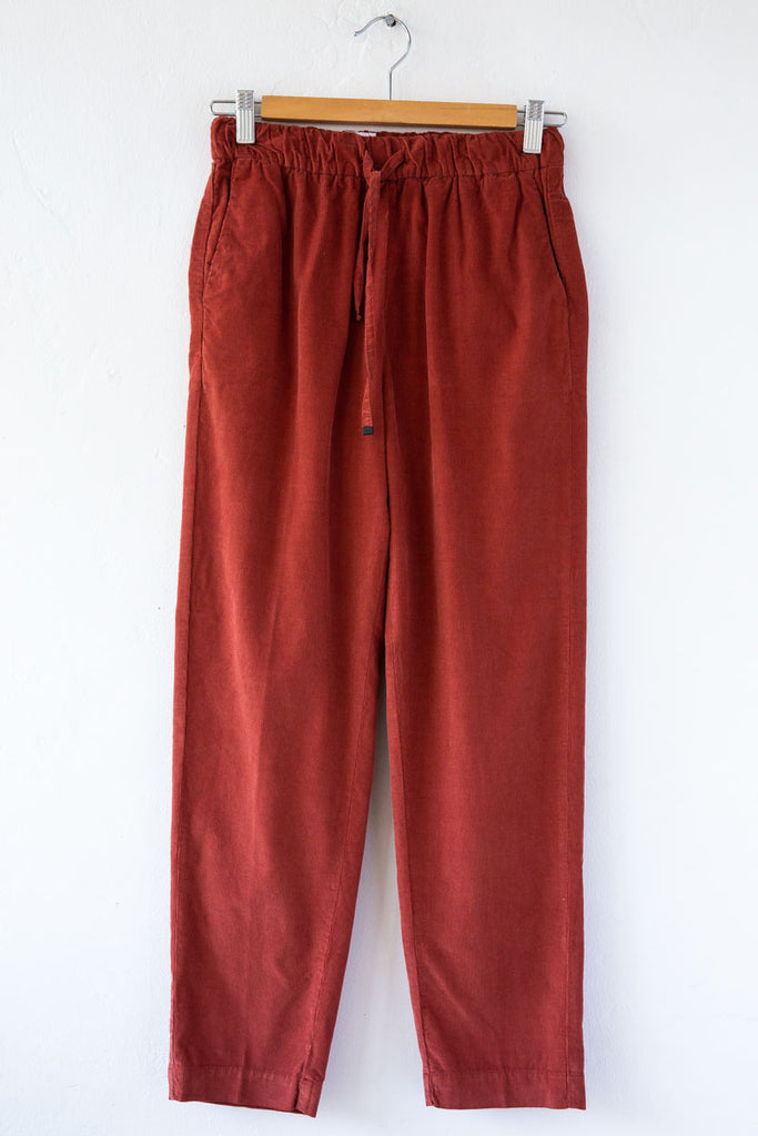 MYTHS Rust Cord Drawcord Pant