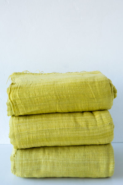 mustard ethiopian throw