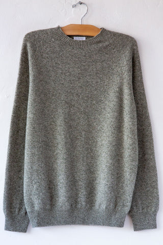 Sunspel Grey Crew Sweater