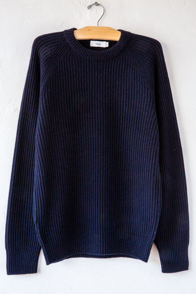 Closed Dk Night Raglan Wool Sweater