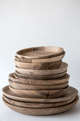 Lost & Found Walnut Dinner  Plates