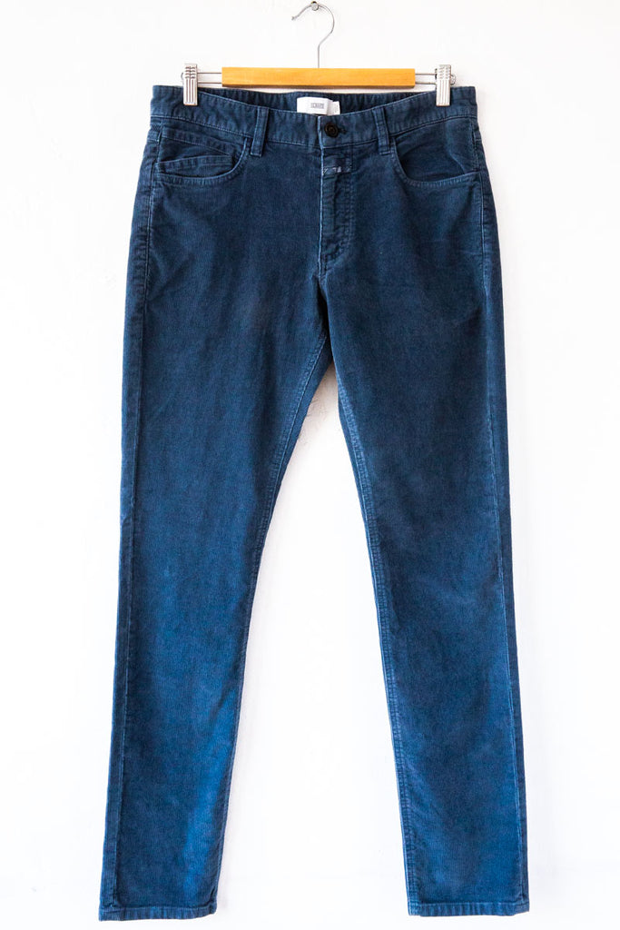 Closed Blue Dawn Unity Slim Corduroy Pant