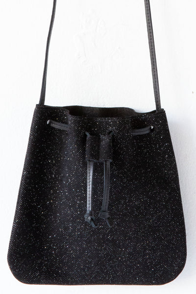 d/e goods black small swarovski  bag