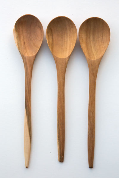 Lost & Found Olive large server spoon