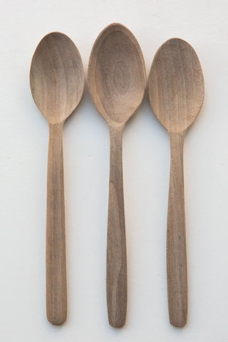 Lost & Found Walnut Serving Spoon