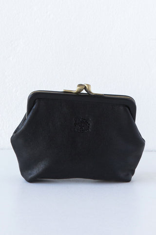 il bisonte black coin purse