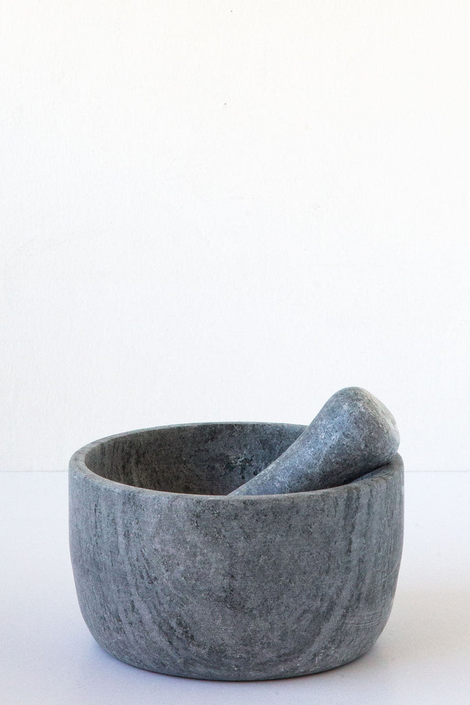 Brazillian Soapstone Mortar and Pestle