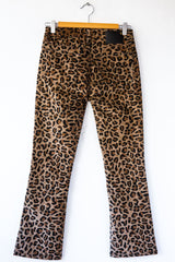 R13 Tan Leopard Kick Fit